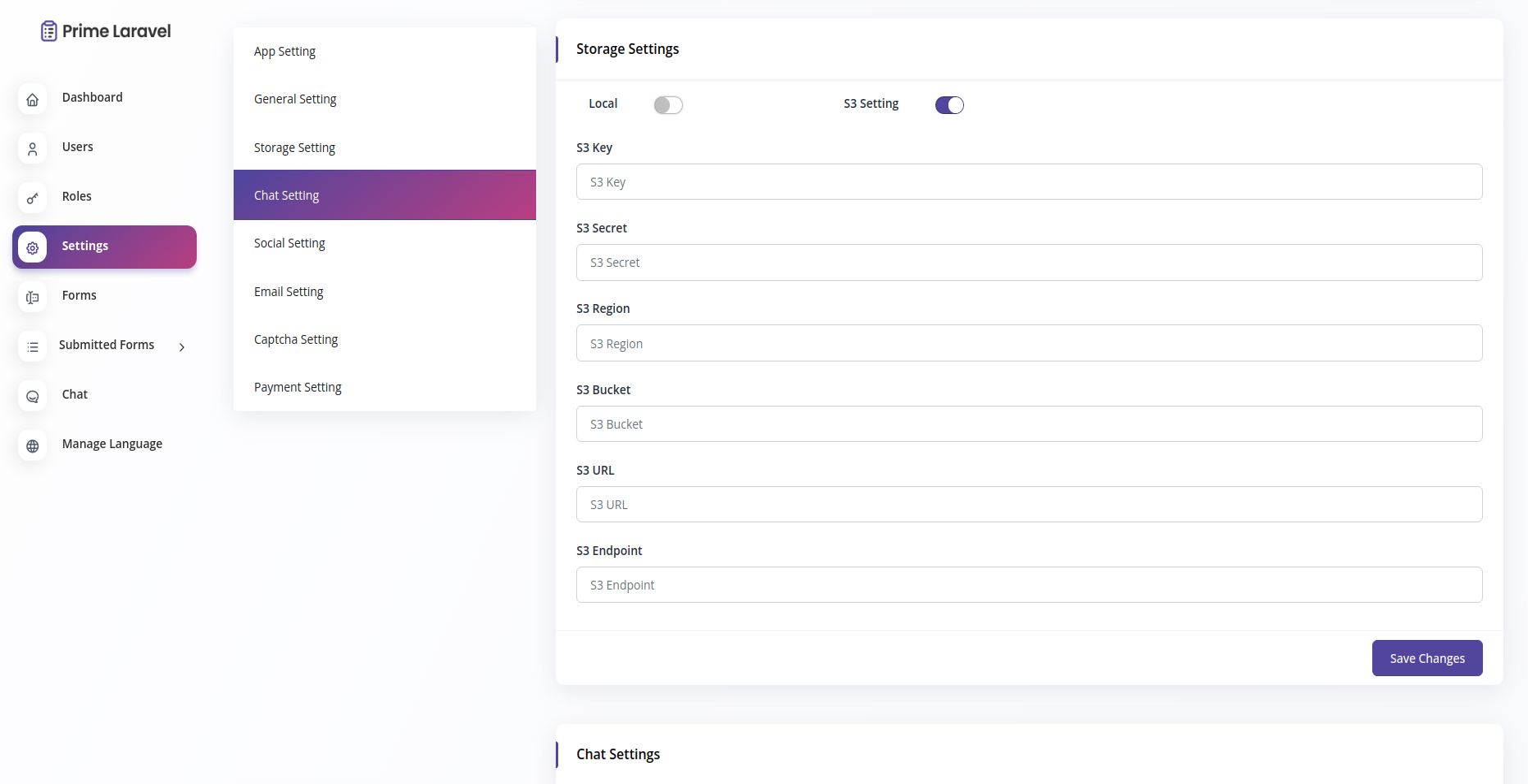 Prime Laravel Form Builder - Form builder, Users, Role, Permissions & Settings - 9